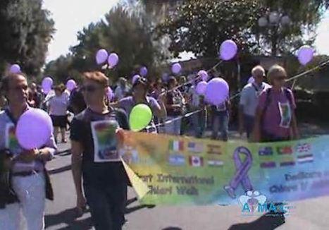 First International Chiari Walk, dedicata a Chiara D' Ambrosio