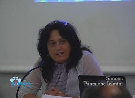 Simona Pantalone Ielmini, Apertura dei lavori da parte del presidente di AIMA-Child