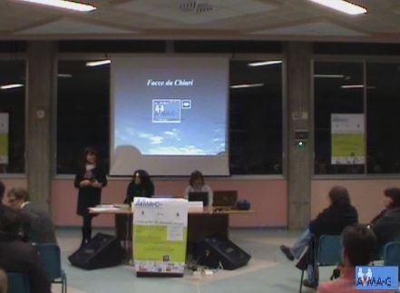 Presentazione dell'associazione, spiegazione della patologia e ringraziamenti