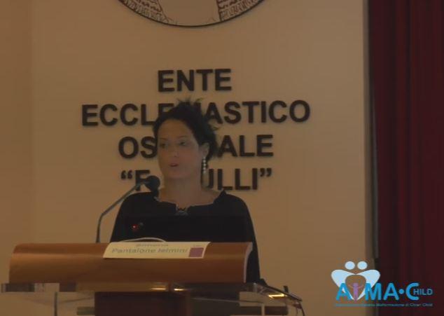 10 anni di AIMA-Child, Simona Pantalone Ielmini